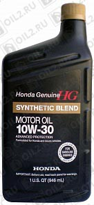 Купить HONDA Synthetic Blend 10W-30 0,946 л.