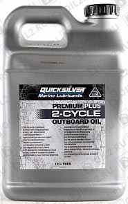 Купить QUICKSILVER Premium Plus 2-Cycle Outboard Oil TC-W3 10 л.