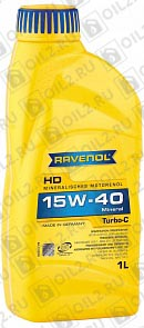 Купить RAVENOL Turbo-C HD-C 15W-40 1 л.