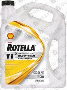 Купить SHELL Rotella T1 SAE 30 3,785 л.