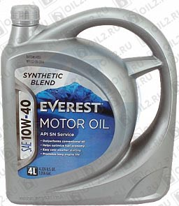 Купить EVEREST Synthetic Blend 10W-40 4 л.