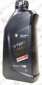 Другие объемы BMW M TwinPower Turbo Longlife-01 SAE 0W-40 55 л.