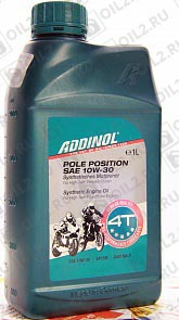 Купить ADDINOL Pole Position 10W-30 4T 1 л.