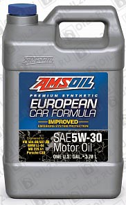 Купить AMSOIL European Car Formula Low-SAPS Synthetic Motor Oil 5W-30 3,785 л.