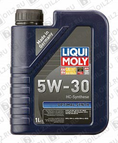 Купить LIQUI MOLY Optimal HT Synth 5W-30 1 л.