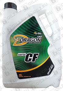 Купить DRAGON Super CF 15W-40 6 л.
