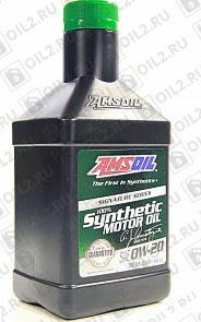 Купить AMSOIL Signature Series Synthetic Motor Oil 0W-20 0,946 л.