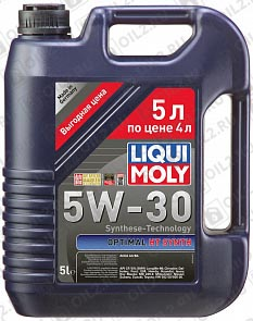 Купить LIQUI MOLY Optimal HT Synth 5W-30 5 л.
