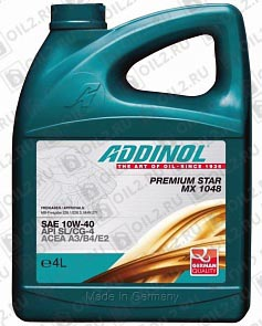 Купить ADDINOL Premium Star MX 1048 SAE 10W-40 4 л.