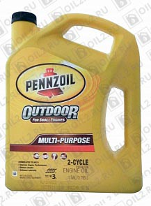 Купить PENNZOIL Outdoor Multi-Purpose 2-Cycle 3,785 л.