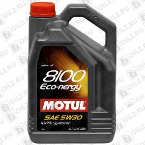 Купить MOTUL 8100 Eco-nergy 5W-30 4 л.