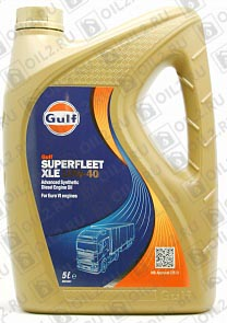 Купить GULF Superfleet XLE 10W-40 5 л.