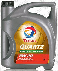 Купить TOTAL Quartz 9000 Future EcoB 5W-20 5 л.