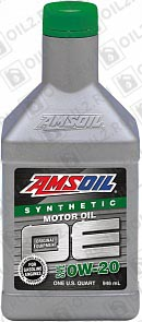 Купить AMSOIL OE Synthetic Motor Oil 0W-20 0,946 л.