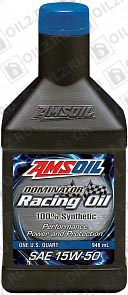 Купить AMSOIL Dominator Synthetic Racing Oil 15W-50 0,946 л.