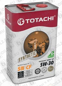 Купить TOTACHI NIRO LV Synthetic 5W-30 4 л.