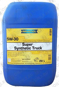 Купить RAVENOL Super Synthetic Truck 5W-30 20 л.