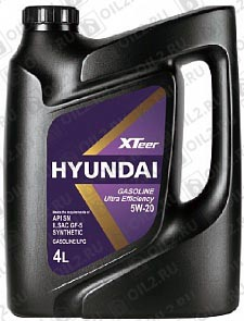 Купить HYUNDAI XTeer Gasoline Ultra Efficiency 5W-20 4 л.