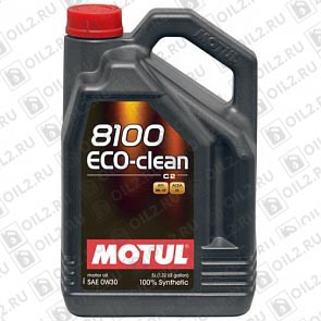 Купить MOTUL 8100 Eco-clean 0W-30 5 л.