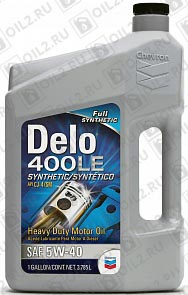 Купить CHEVRON Delo 400 LE Synthetic 5W-40 3,785 л.