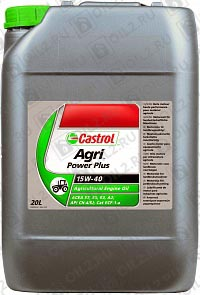 Купить CASTROL Agri Power Plus 15W-40 20 л.