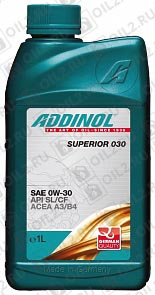 Купить ADDINOL Superior 030 SAE 0W-30 1 л.