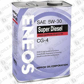 Купить ENEOS Super Diesel Semi-Synthetic 5W-30 4 л.