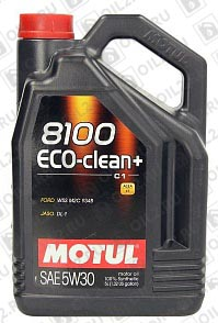 Купить MOTUL 8100 Eco-clean+ 5W-30 5 л.