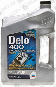 Купить CHEVRON Delo 400 Synthetic 0W-30 3,785 л.