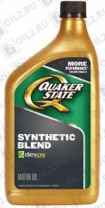 Купить QUAKER STATE Synthetic Blend dexos 1 SAE 5W-30 0,946 л.
