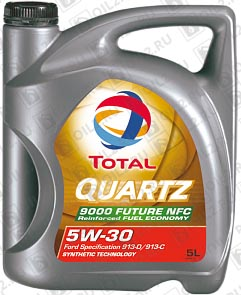 Купить TOTAL Quartz 9000 Future NFC 5W-30 5 л.