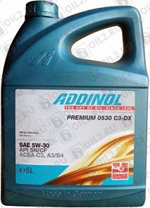 Купить ADDINOL Premium 0530 C3-DX 5W-30 5 л.