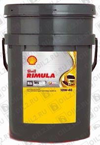 Купить SHELL Rimula R6 MS 10W-40 20 л.