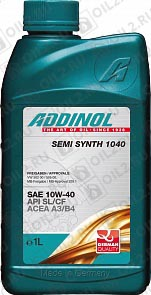 Купить ADDINOL Semi Synth 1040 SAE 10W-40 1 л.