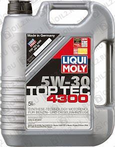 Купить LIQUI MOLY Top Tec 4300 5W-30 5 л.