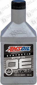 Купить AMSOIL OE Synthetic Motor Oil 5W-20 0,946 л.