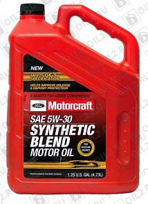 Купить FORD Motorcraft Premium Synthetic Blend 5W-30 4,73 л.
