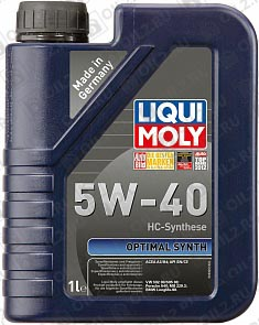 Купить LIQUI MOLY Optimal Synth 5W-40 1 л.