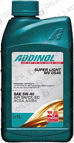 Купить ADDINOL Super Light 0540 SAE 5W-40 1 л.