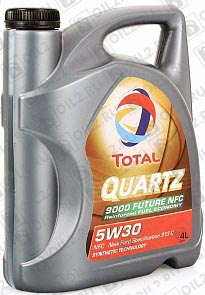 Купить TOTAL Quartz 9000 Future NFC 5W-30 4 л.