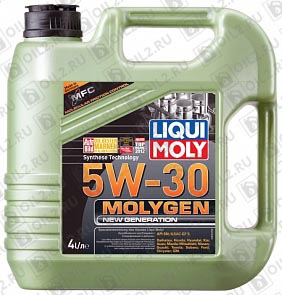 Купить LIQUI MOLY Molygen New Generation 5W-30 4 л.