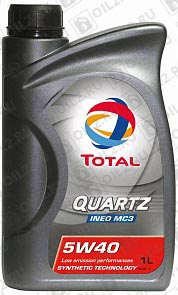 Купить TOTAL Quartz INEO MC3 5W-40 1 л.