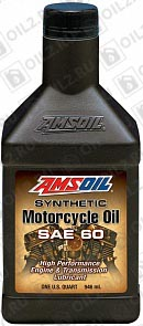 AMSOIL Synthetic Motorcycle Oil SAE 60 0,946 л.