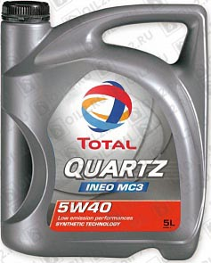 Купить TOTAL Quartz INEO MC3 5W-40 5 л.