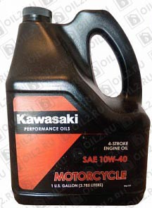 Купить KAWASAKI Performance Oils 4-Stroke Engine Oil Motocycle 10W-40 3,785 л.