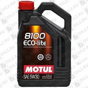 Купить MOTUL 8100 Eco-lite 5W-30 4 л.