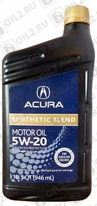 Купить ACURA Synthetic Blend 5W-20 SN 0,946 л.