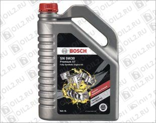 Купить BOSCH Premium X7 Fully Synthetic Engine Oil SN SAE 5W-30 4 л.