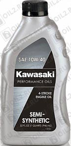 Купить KAWASAKI Performance Oils 4-Stroke Engine Oil Semi Synthetic SAE 10W-40 0,946 л.