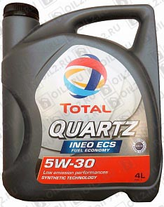 Купить TOTAL Quartz INEO ECS 5W-30 4 л.